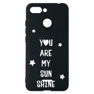 Xiaomi Redmi 6 Case You are my sunshine
