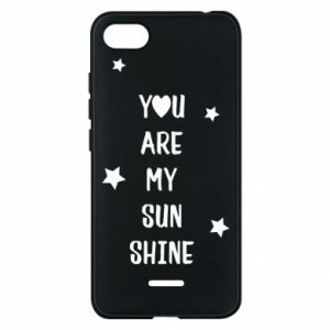 Etui na Xiaomi Redmi 6A You are my sunshine