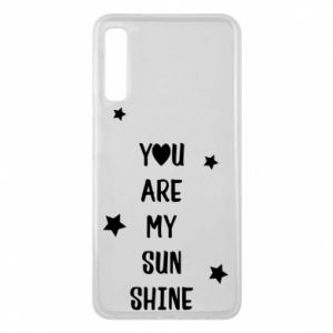 Etui na Samsung A7 2018 You are my sunshine