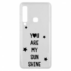 Etui na Samsung A9 2018 You are my sunshine