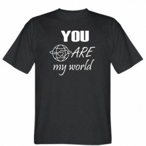 T-shirt You are my world Earth