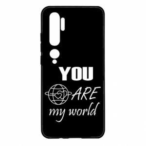 Etui na Xiaomi Mi Note 10 You are my world Earth