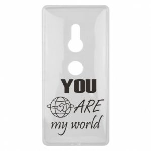 Etui na Sony Xperia XZ2 You are my world Earth
