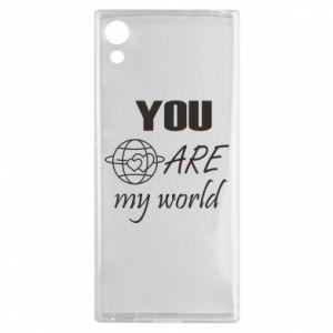 Etui na Sony Xperia XA1 You are my world Earth