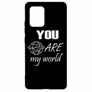 Etui na Samsung S10 Lite You are my world Earth