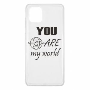 Etui na Samsung Note 10 Lite You are my world Earth