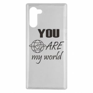 Etui na Samsung Note 10 You are my world Earth