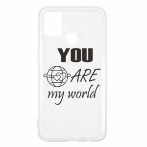 Etui na Samsung M31 You are my world Earth