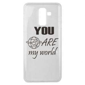 Etui na Samsung J8 2018 You are my world Earth