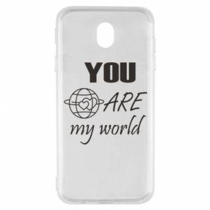 Etui na Samsung J7 2017 You are my world Earth