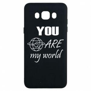 Etui na Samsung J7 2016 You are my world Earth