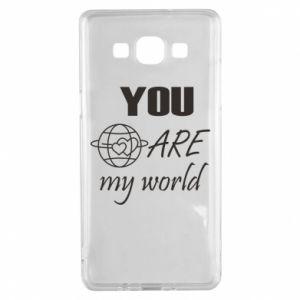 Etui na Samsung A5 2015 You are my world Earth