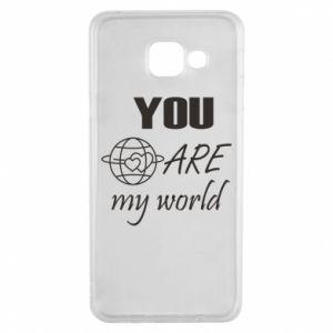 Etui na Samsung A3 2016 You are my world Earth