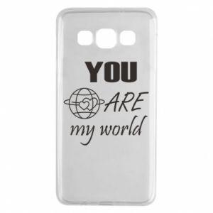 Etui na Samsung A3 2015 You are my world Earth