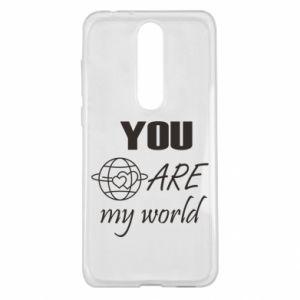 Etui na Nokia 5.1 Plus You are my world Earth