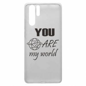 Etui na Huawei P30 Pro You are my world Earth