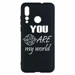 Etui na Huawei Nova 4 You are my world Earth