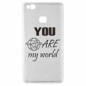 Etui na Huawei P9 Lite You are my world Earth