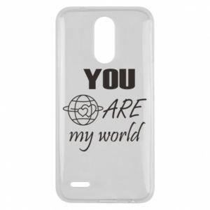 Etui na Lg K10 2017 You are my world Earth