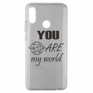 Etui na Huawei Honor 10 Lite You are my world Earth