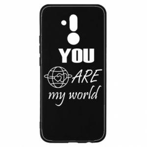 Etui na Huawei Mate 20 Lite You are my world Earth