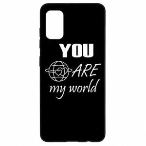 Etui na Samsung A41 You are my world Earth