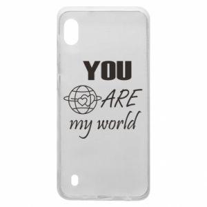 Etui na Samsung A10 You are my world Earth