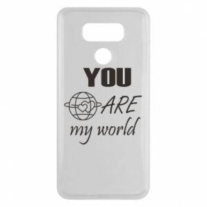 Etui na LG G6 You are my world Earth