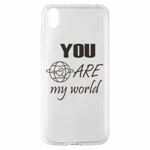 Etui na Huawei Y5 2019 You are my world Earth