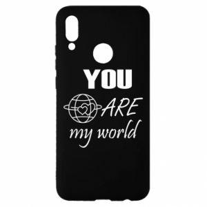 Etui na Huawei P Smart 2019 You are my world Earth