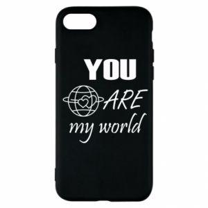 Etui na iPhone SE 2020 You are my world Earth