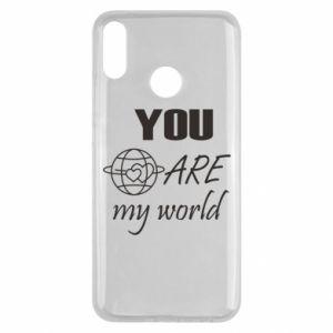 Etui na Huawei Y9 2019 You are my world Earth