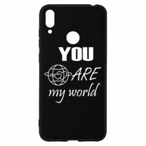 Etui na Huawei Y7 2019 You are my world Earth