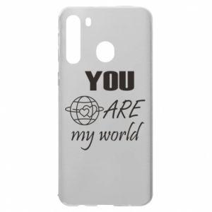 Etui na Samsung A21 You are my world Earth