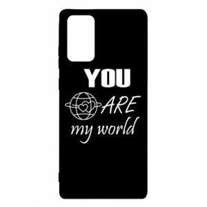 Etui na Samsung Note 20 You are my world Earth