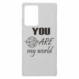 Etui na Samsung Note 20 Ultra You are my world Earth