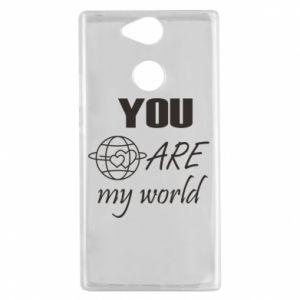 Etui na Sony Xperia XA2 You are my world Earth