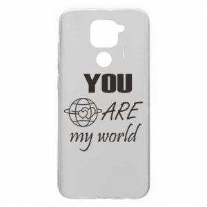 Etui na Xiaomi Redmi Note 9/Redmi 10X You are my world Earth