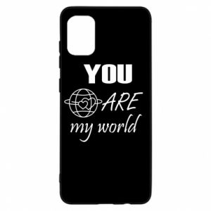Etui na Samsung A31 You are my world Earth