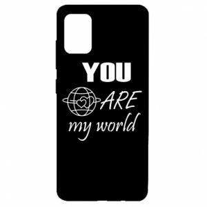 Etui na Samsung A51 You are my world Earth