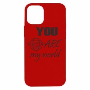 Etui na iPhone 12 Mini You are my world Earth