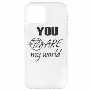 Etui na iPhone 12/12 Pro You are my world Earth