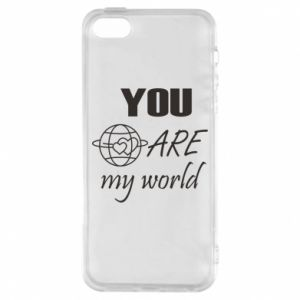 Etui na iPhone 5/5S/SE You are my world Earth