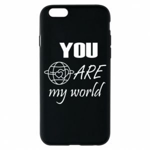 Etui na iPhone 6/6S You are my world Earth