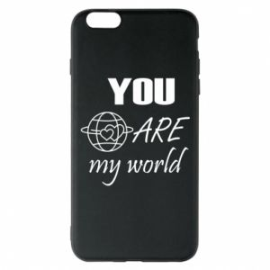 Etui na iPhone 6 Plus/6S Plus You are my world Earth