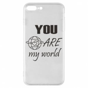 Etui na iPhone 7 Plus You are my world Earth
