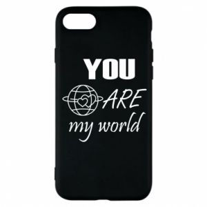 Etui na iPhone 8 You are my world Earth