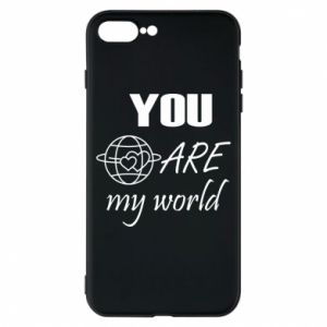 Etui na iPhone 8 Plus You are my world Earth