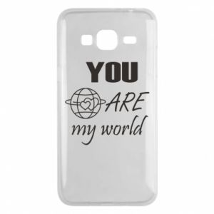 Phone case for Samsung J3 2016 You are my world Earth