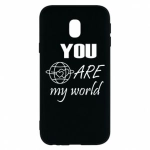 Phone case for Samsung J3 2017 You are my world Earth